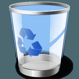 Çöp dosyaları silmek