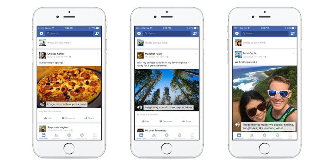 Facebooktan Görme Engelliler İçin Proje