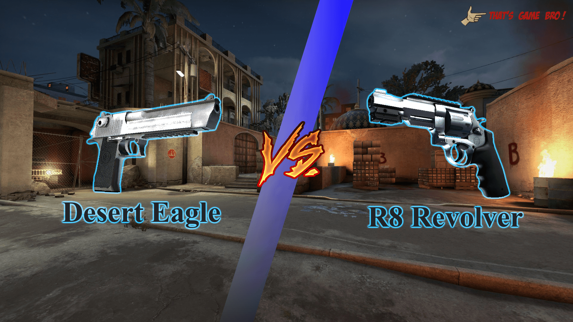 Deagle vs Revolver