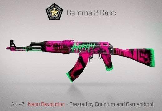 Gamma2 Kasası AK-47