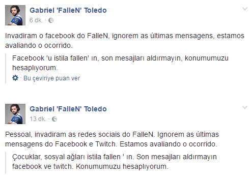 FalleN'ın Facebook gönderileri