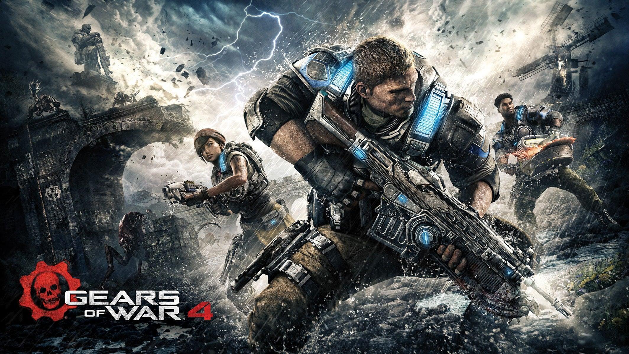 Gears of War 4 için geri sayım başlıyor