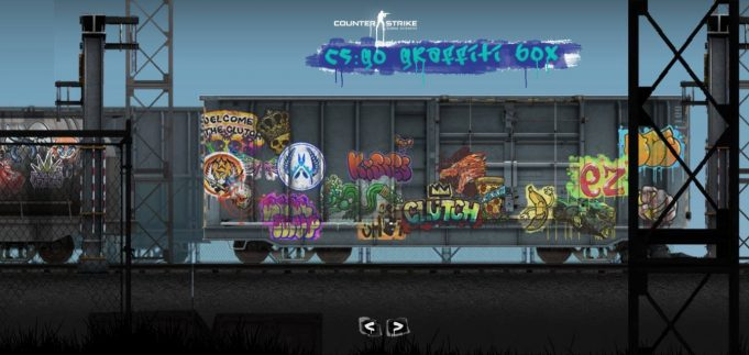 CS:GO Grafitti Güncellemesi