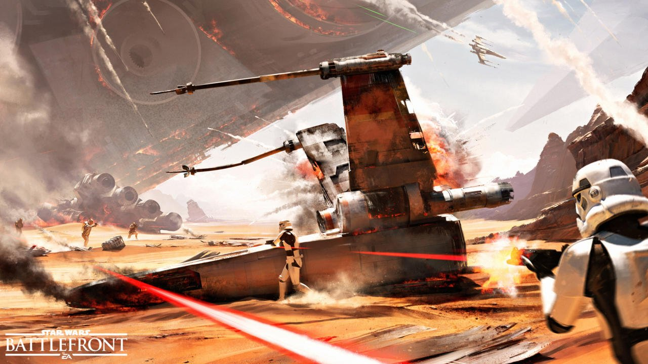 Star Wars Battlefront 2 Geliyor