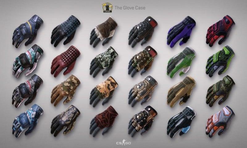 CS:GO Eldiven Skinleri