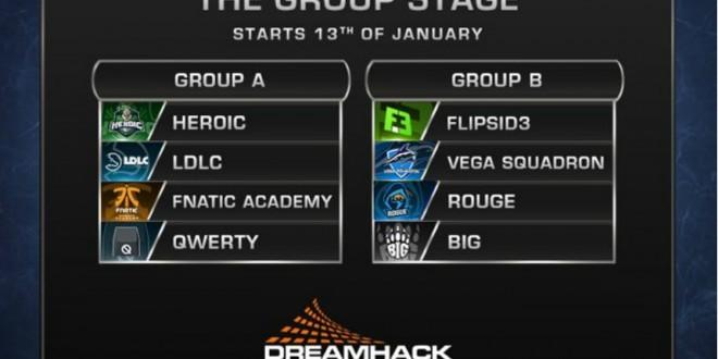 DreamHack Leipzig grupları açıklandı