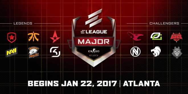 ELEAGUE major participating teams