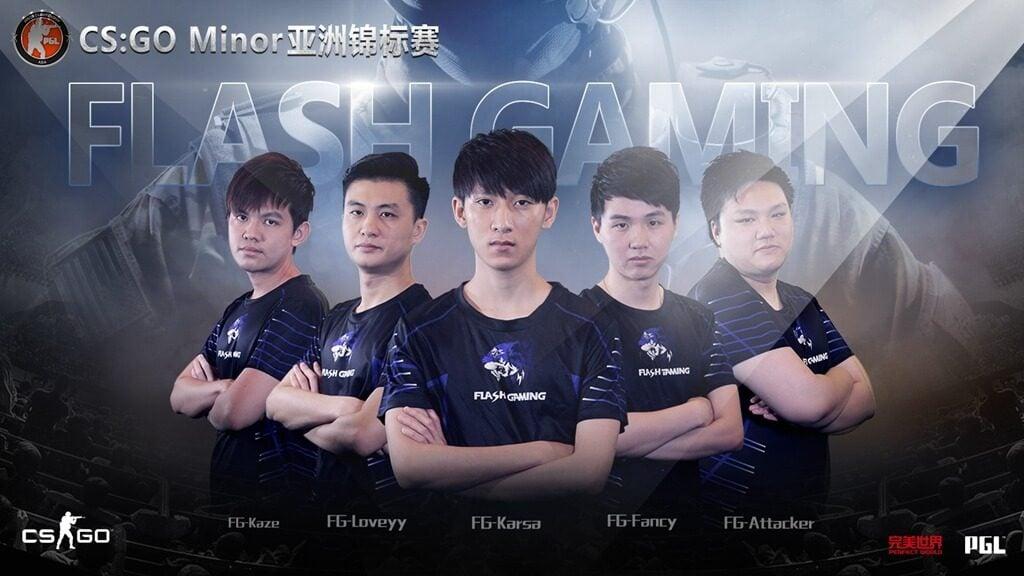 CS:GO Flash Gaming Kadrosu