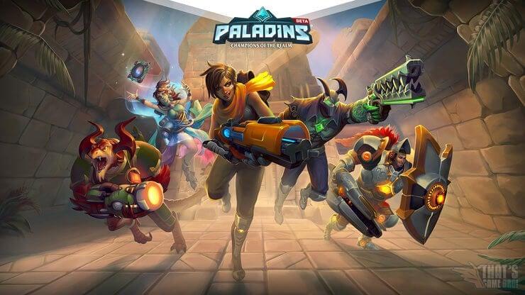 Paladins Ücretsiz Steam Oyunu
