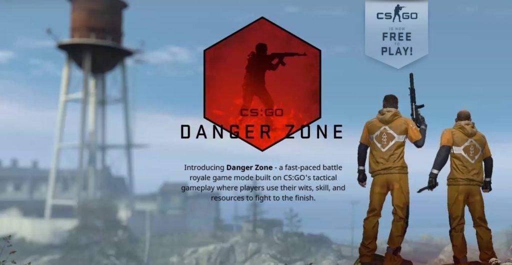 CS:GO Battle Royale: Danger Zone