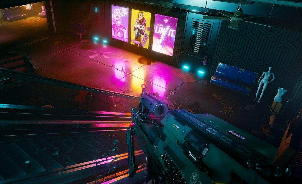 Cyberpunp 2077 Ray Tracing görüntüsü