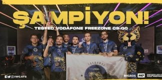 TESFES CSGO Şampiyonu İstanbul Wild Cats