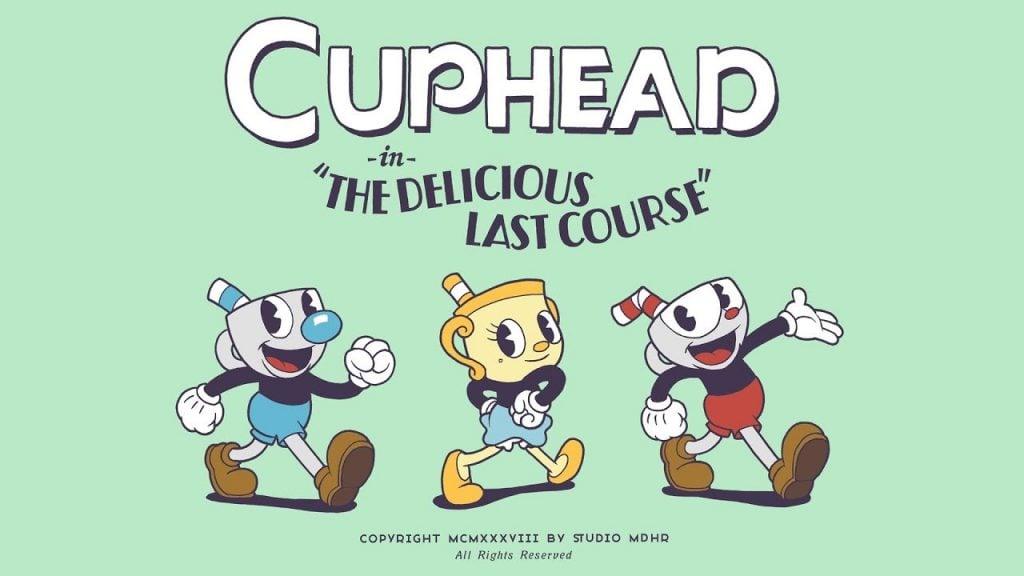 Cuphead oyun afişi