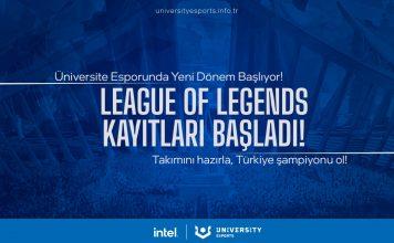 Intel University Esports projesi Türkiye'de Hayata Geçiyor
