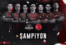NBA2K Avrupa Şampiyonu Yine Türkiye!