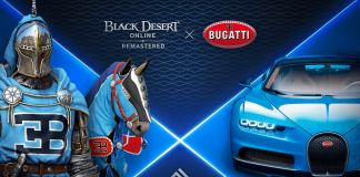 Black Desert x BUGATTI